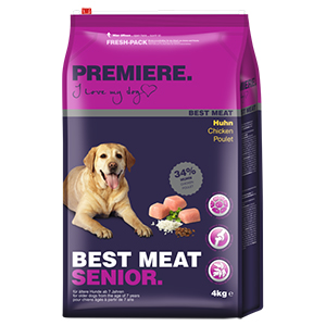PREMIERE száraz kutyaeledel senior csirke 4kg