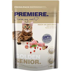 Premiere cica száraz eledel senior 300g