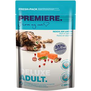 Premiere cica száraz eledel adult lazac 300g