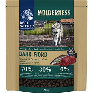 Real Nature Wilderness kutya szárazeledel rénszarvas, lazac, kacsa 1kg