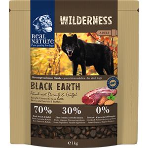 Real Nature Wilderness kutya szárazeledel marha, strucc, bivaly 1kg
