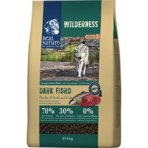 Real Nature Wilderness kutya szárazeledel rénszarvas, lazac, kacsa 4kg