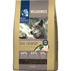 Real Nature Wilderness kutya szárazeledel senior csirke, lazac, hering 4kg