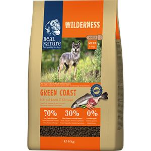 Real Nature Wilderness kutya szárazeledel mini kacsa, lazac, garnéla 4kg