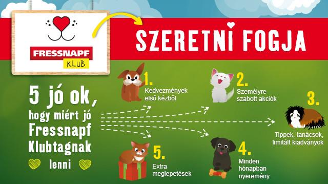 Az állatszeretet összetart – irány a Fressnapf Klub!
