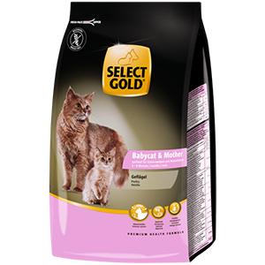 SELECT GOLD cica száraz eledel Sensi Babycat 400g
