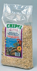 Chipsi Extra hüllő alom 10l