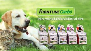 Teljes erőbedobással az élősködők ellen: Frontline-nal!