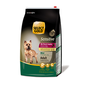 Select Gold Mini Sensitive adult ló&tápióka 4kg