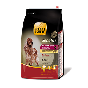 Select Gold Medium Sensitive adult ló&tápióka 4kg