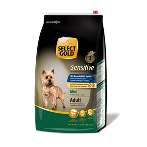Select Gold Mini Sensitive adult bivaly&tápióka 4kg