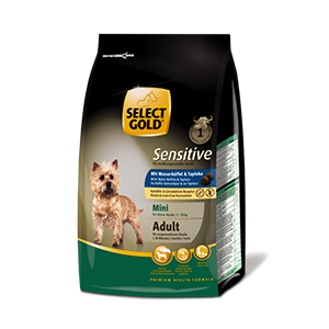 Select Gold Mini Sensitive adult bivaly&tápióka 1kg