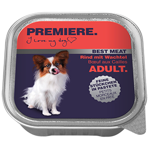 PREMIERE Best Meat adult marha&fürj 100g