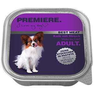 PREMIERE Best Meat adult borjú&szarvas 100g