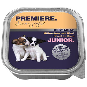 PREMIERE Best Meat junior csirke&marha 100g