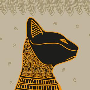Az ókori Egyiptomban nagy tiszteletben tartották a macskákat…