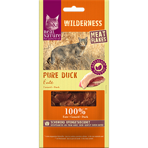 Real Nature Wilderness meat flakes kacsa 10g