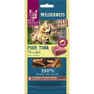 Real Nature Wilderness meat flakes tonhal 10g
