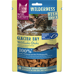 Real Nature Wilderness snack lazac Glacier 35g