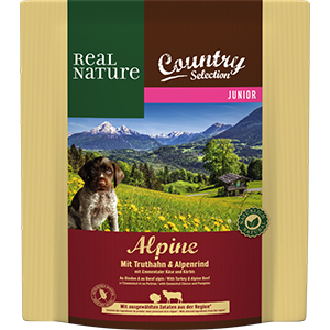 Real Nature Country Alpine junior pulyka&marha 1kg