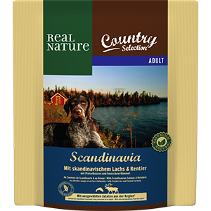 Real Nature Country Scand adult lazac&rénszarvas 1kg