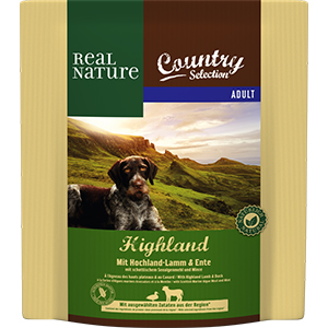 Real Nature Country Highla adult bárány&kacsa 1kg