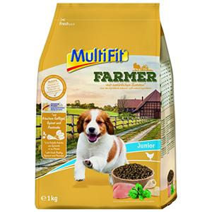 MulitFit Farmer junior szárnyas&spenót 1kg