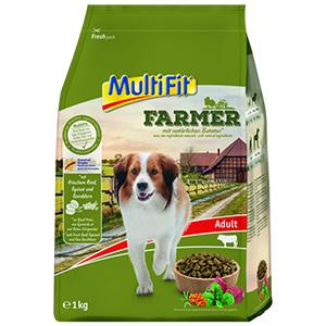 MulitFit Farmer adult marha&spenót 1kg
