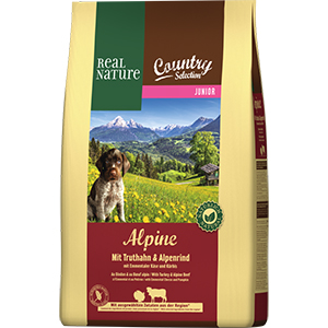 Real Nature Country Alpine junior pulyka&marha 4kg