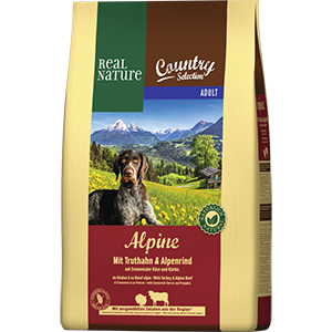 Real Nature Country Alpine adult pulyka&marha 4kg