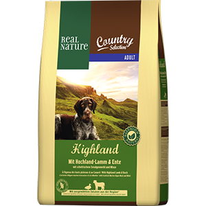 Real Nature Country Highla adult bárány&kacsa 4kg