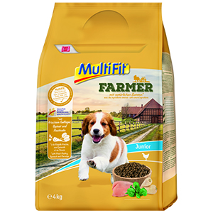 MulitFit Farmer junior szárnyas&spenót 4kg