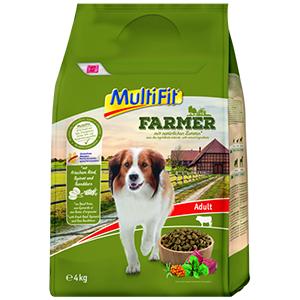 MulitFit Farmer adult marha&spenót 4kg