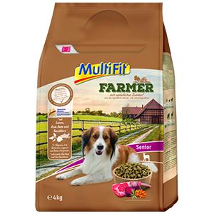 MulitFit Farmer senior bárány&cékla 4kg