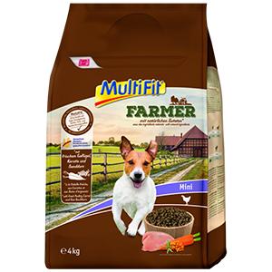 MulitFit Farmer mini adult szárnyas&répa 4kg
