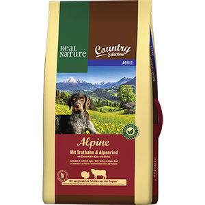 Real Nature Country Alpine adult pulyka&marha 12kg