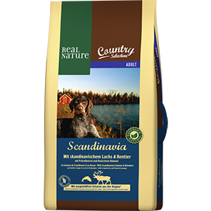 Real Nature Country Scand adult lazac&rénszarvas 12kg