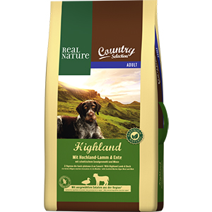 Real Nature Country Highla adult bárány&kacsa 12kg