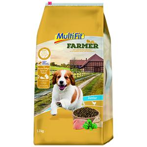 MulitFit Farmer junior szárnyas&spenót 12kg