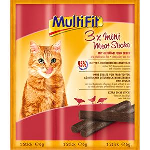 MultiFit mini stick csirke 3x6g