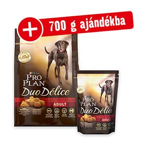 700g AJÁNDÉK – ProPlan Duo Delice kutya szárazeledel 2,5kg+700g (3-féle)