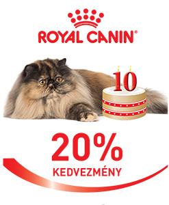20% kedvezmény – MINDEN! ROYAL CANIN macskaeledelre