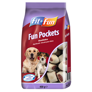 fit+fun 400g Fun Pockets