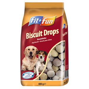 fit+fun 400g Biscuit Drops