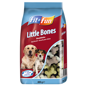 fit+fun 400g Little Bones