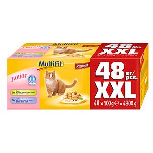MultiFit Ragout junior 48x100g