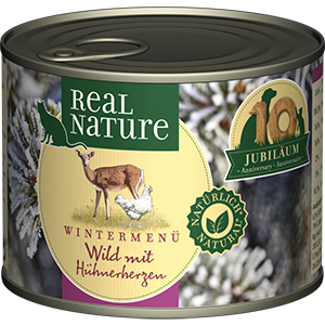 Real Nature Limited Edition adult vad&baromfiszív 200g