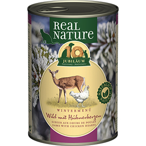 Real Nature Limited Edition adult vad&baromfiszív 400g