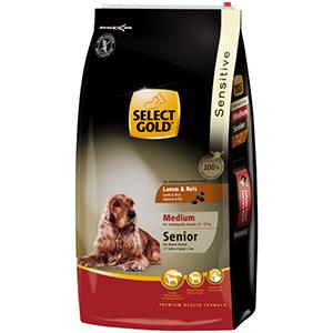 Select Gold Sensitive senior medium bárány 12kg