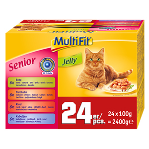 MultiFit Jelly senior 24x100g